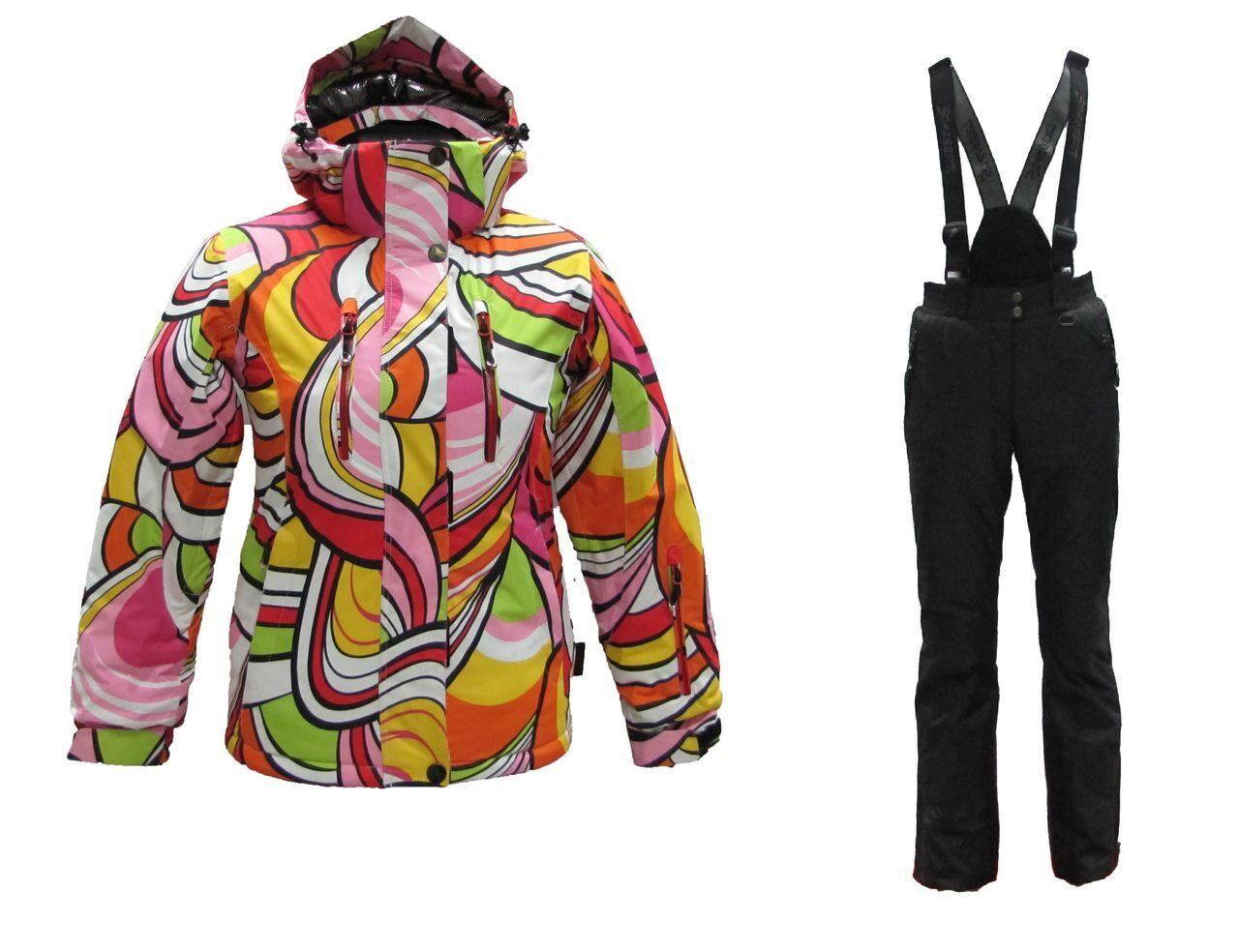 Горнолыжные Костюмы Модные Женские Доставка