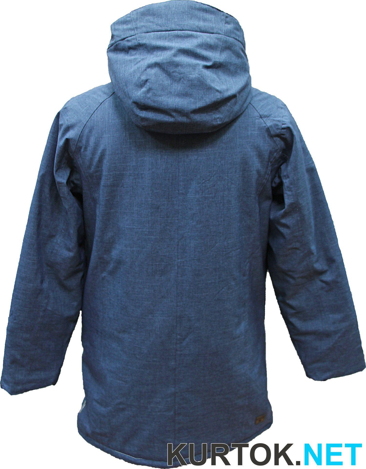 Удлиненная джинсовая куртка луки